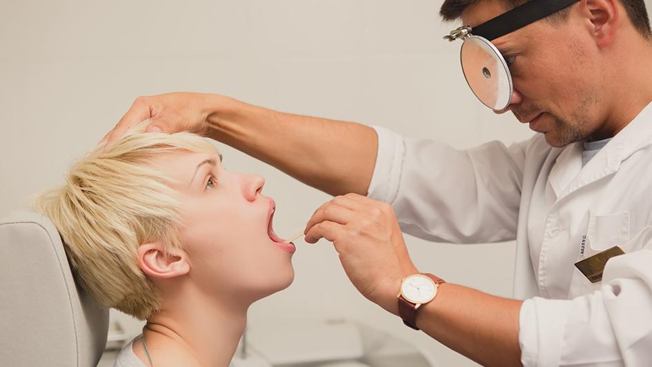 Діагностика ангіни: культуральні дослідження та експрес-тест на антиген